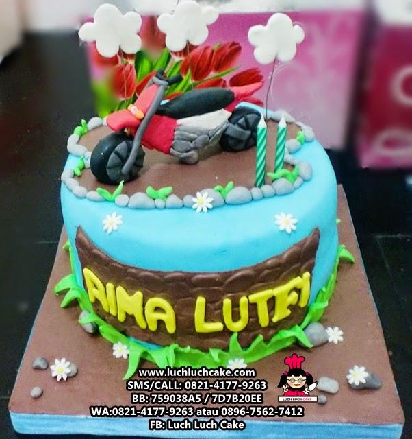 Kue Tart Motor Trail Daerah Surabaya - Sidoarjo