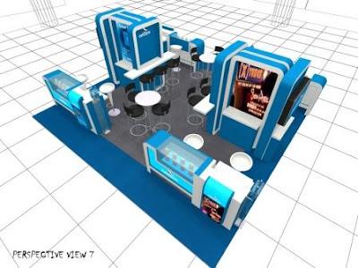 Celcom Enterprise Booth @ irsahdesigns