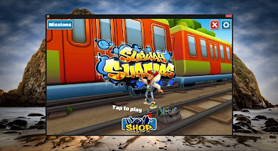 intel App you can directly download subway surfers games for you pc