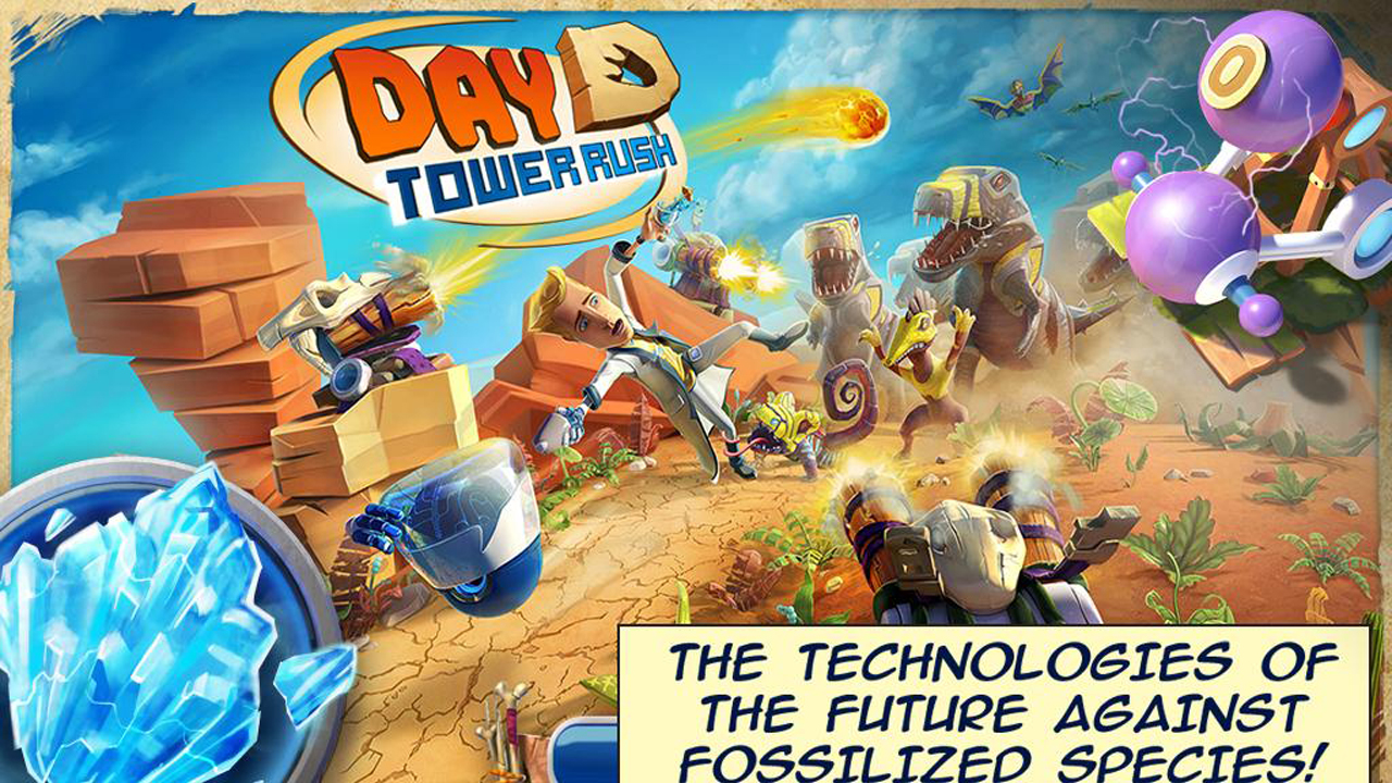 Day D Tower Rush Gameplay IOS / Android