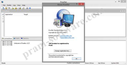 ScreenShot Proxifier