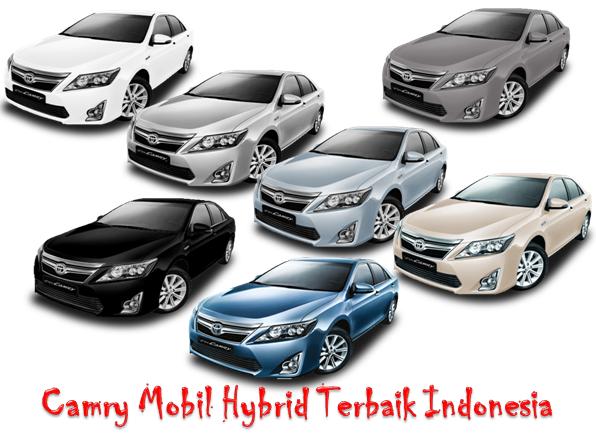 Camry Mobil Hybrid Terbaik Indonesia Tersedia 7 Warna