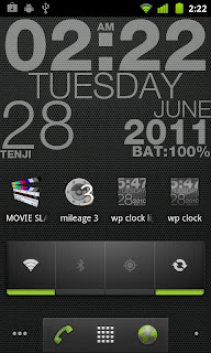wp clock apk beautiful live wallpaper for Android