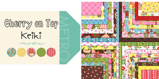 Moda CHERRY ON TOP Quilt Fabric by Keiki
