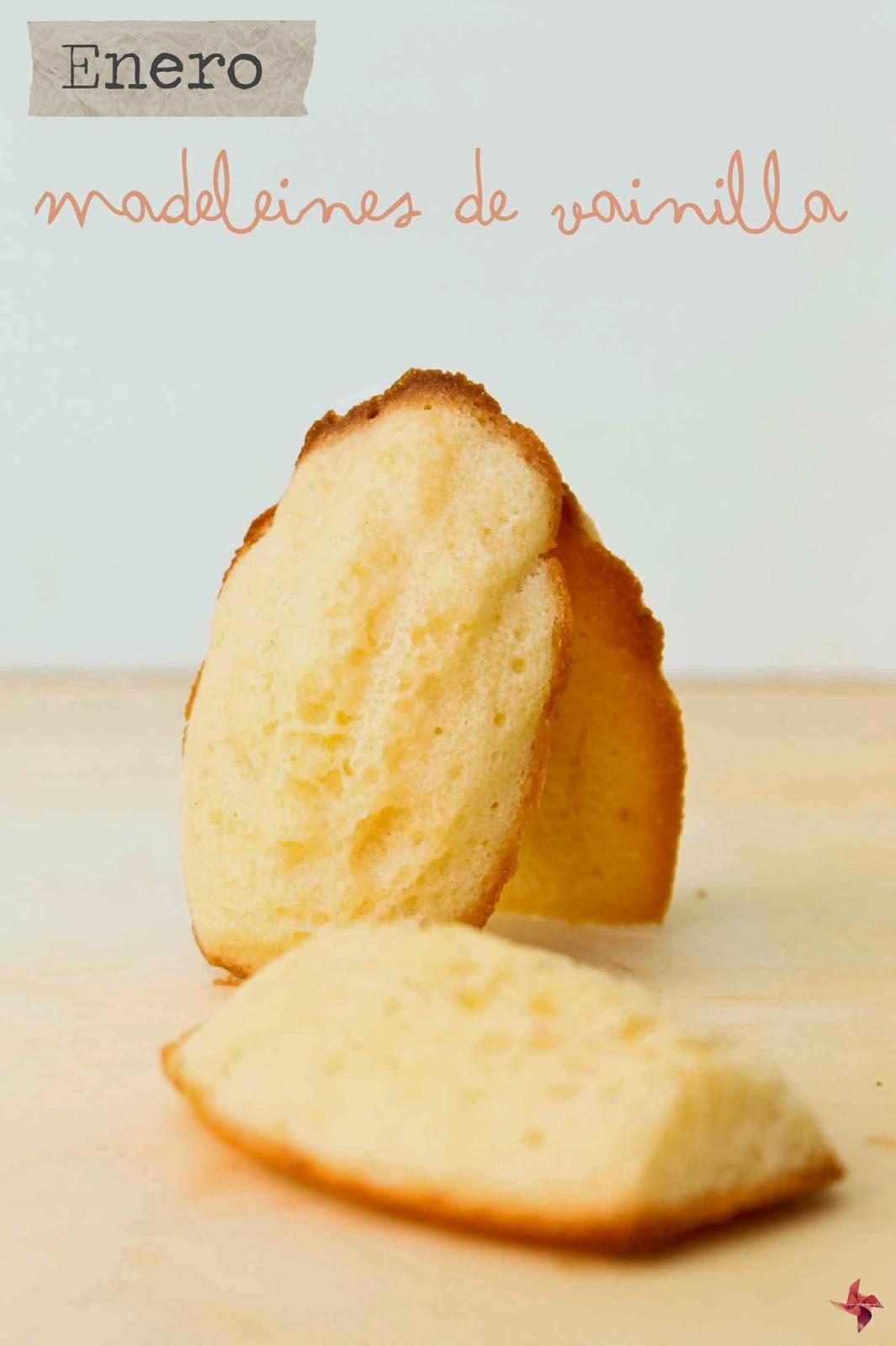 madeleines de vainilla