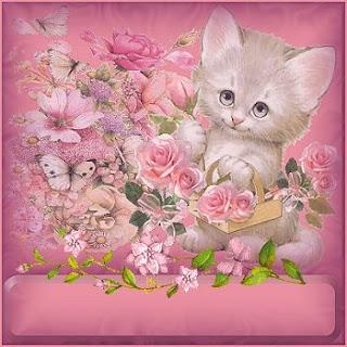 80 imagens para decoupage de gatinhos