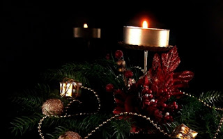 2013 New Year Candles Decorations Wallpapers