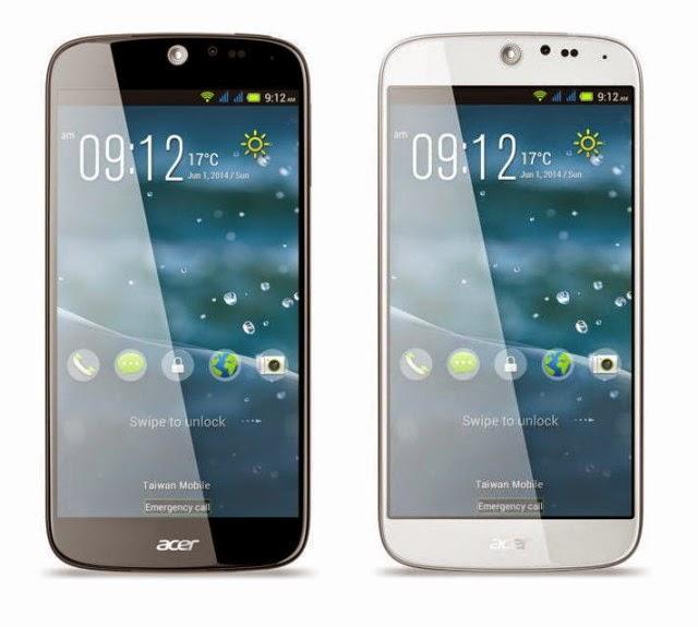 Acer Liquid Jade Smartphone Tipis Didampingi Dengan Gelang Pintar