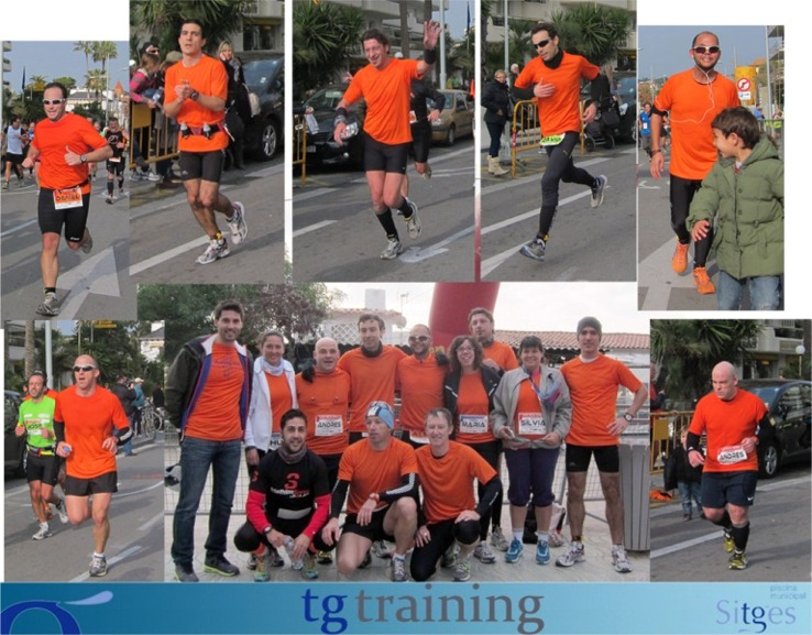 Tg training xxix mitja sitges 10k y 21k for Piscina municipal sitges