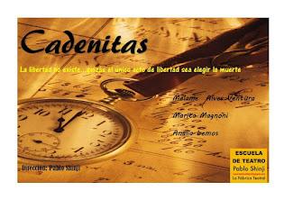 """Muestra 2016 """"Cadenitas"""""""