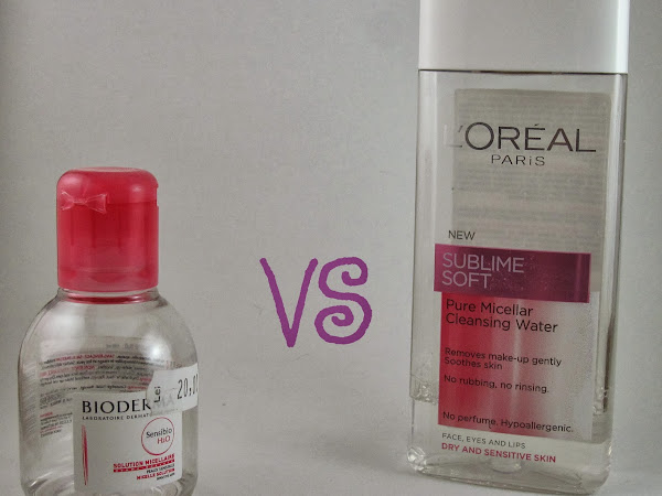 Bioderma vs L'Oreal - The Battle of Micellar Waters