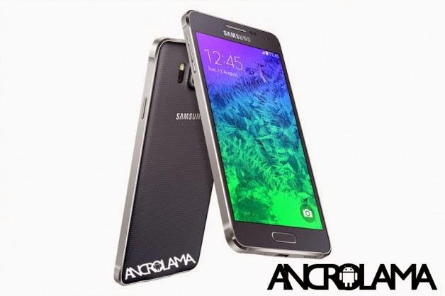 Samsung Galaxy Alpha Resmileşti