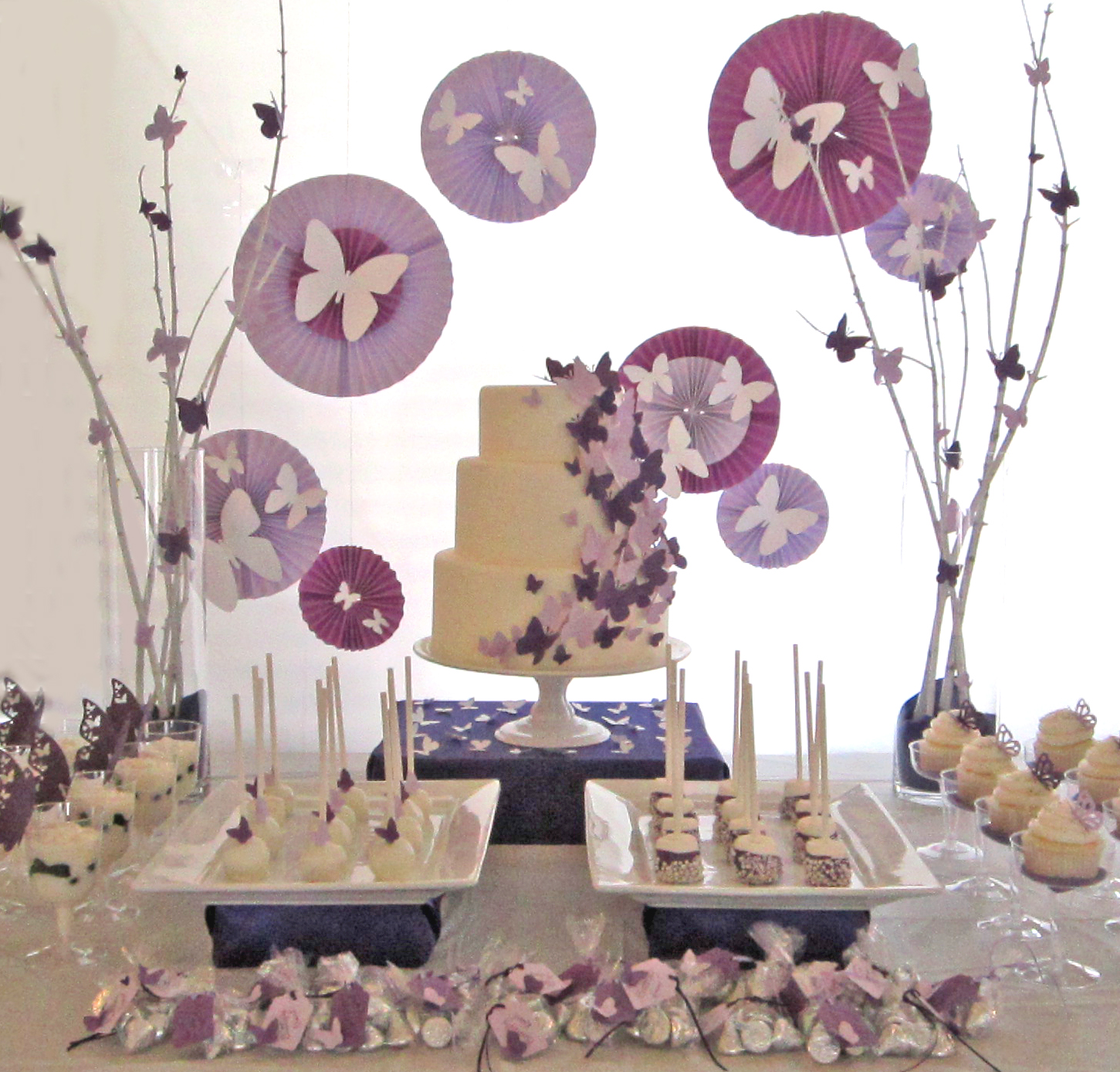 Sweeten Your Day Events: Butterfly Dessert Table