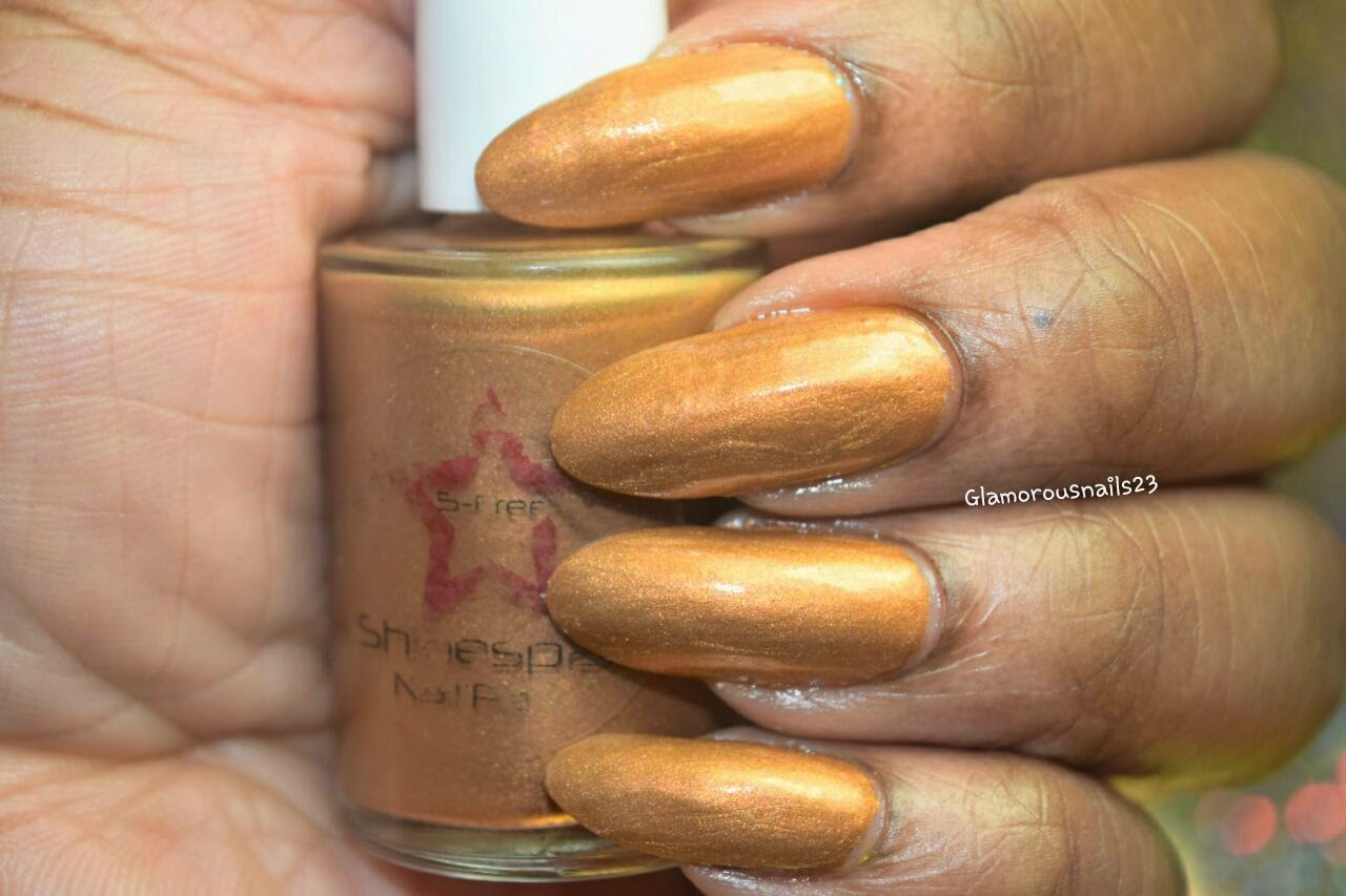 Shinespark Polish Tiger Eye Swatch