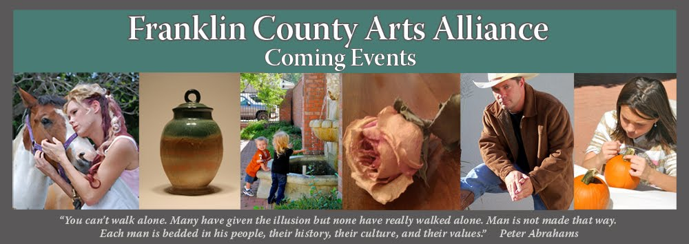 Coming Events Franklin County Arts Alliance