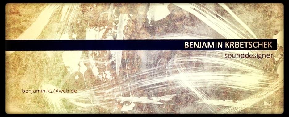 Benjamin Krbetschek Sounddesign
