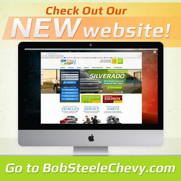New Bob Steele Chevrolet Website is LIVE!