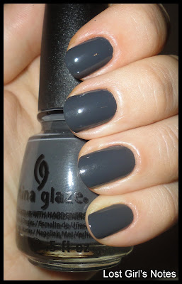china glaze concrete catwalk swatches and review