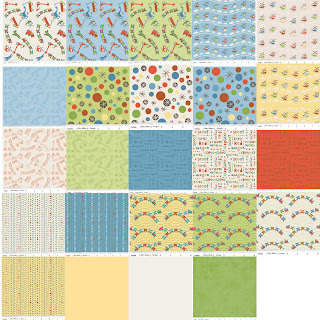 Riley Blake Designs SCOOT Quilt Fabric by Deena Rutter