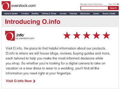 Feb. 28, 2012 Overstock.com email