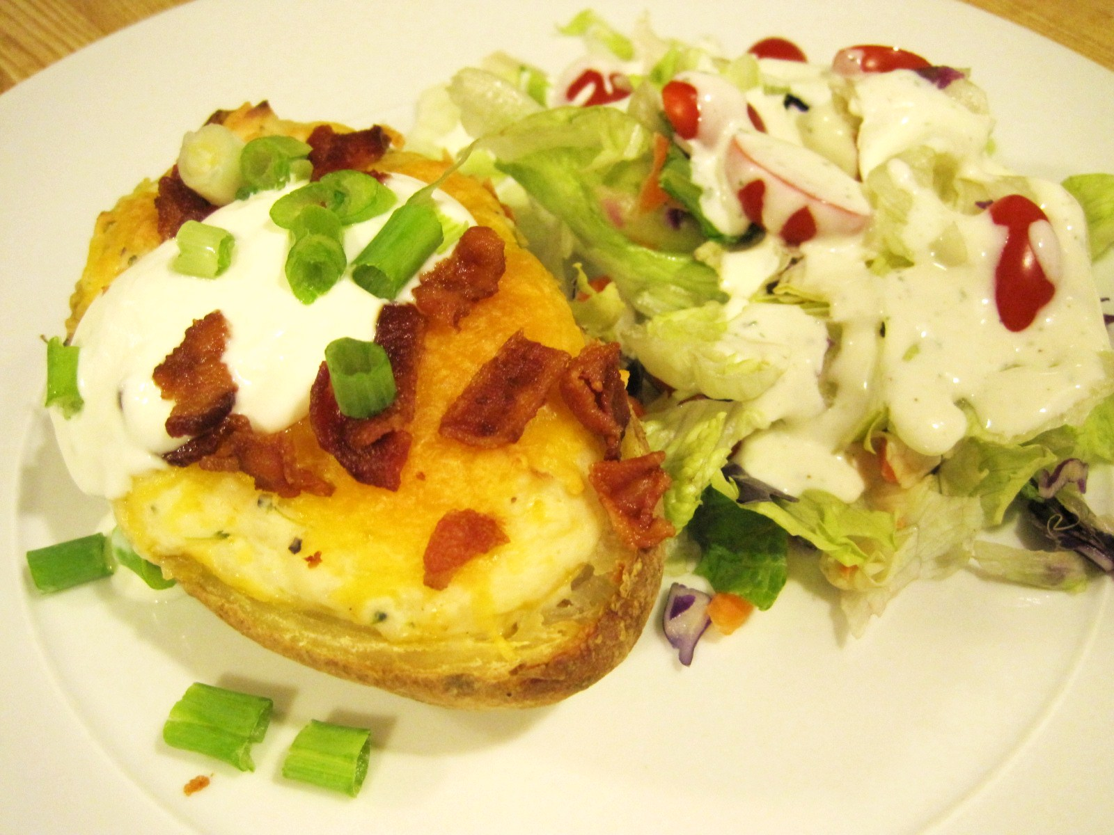 Nickel's Worth of News: Loaded Twice Baked Potatoes