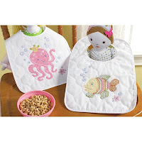 Mermaid Bay Baby Bibs Kit
