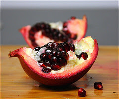 POMEGRANATE by JOE MARINARO via Flickr and a Creative Commons license