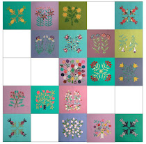My Shenandoah Valley Botanical Quilt
