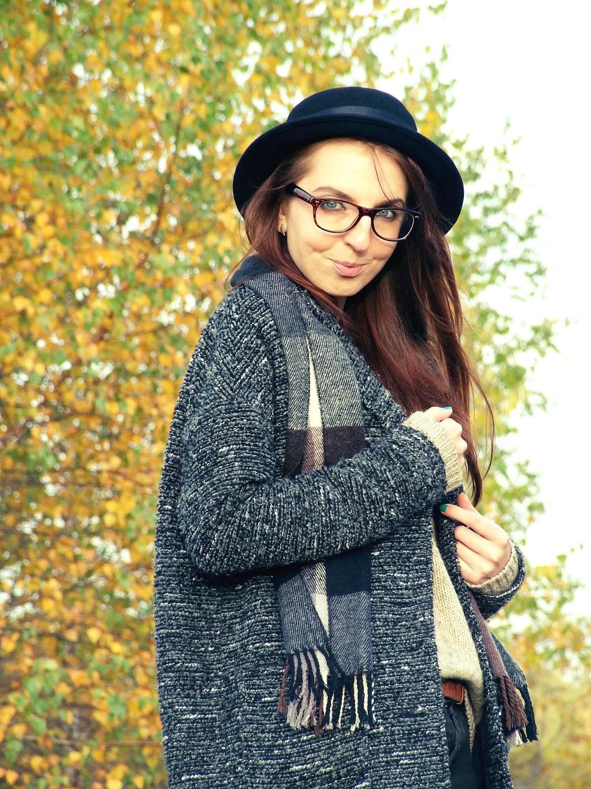 jesień, moda, przyroda, Katowice