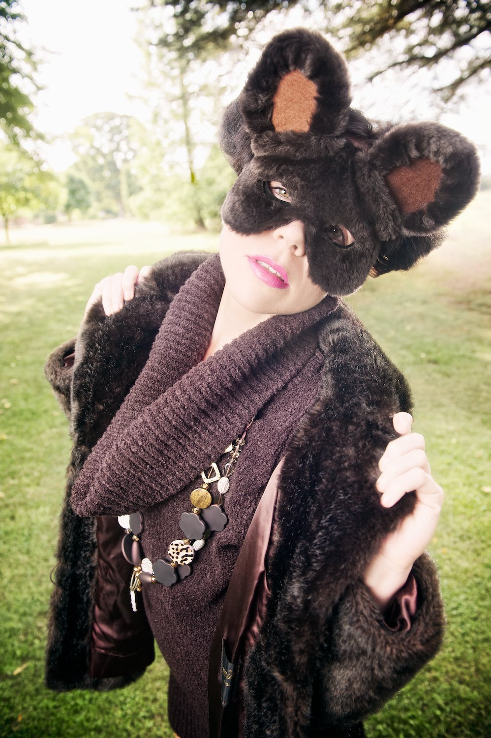 mystic magic, Pixbeat Photo, mask, bear mask, masquerade, animal, animal masks, fashion, vintage, vintage fashion, photo, photography, fur, feathers, couture, designer, inspiration, imagination, avant garde, creative, fashion photography, Animal Heritage, fashion designer, mask designer, bear
