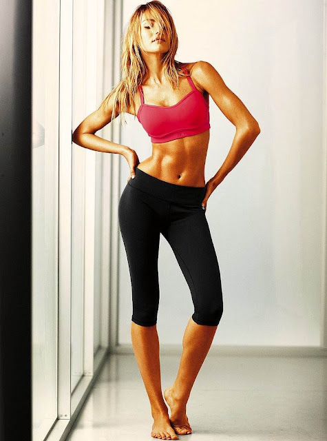 Candice Swanepoel – Victoria's Secret Workout Photoshoot