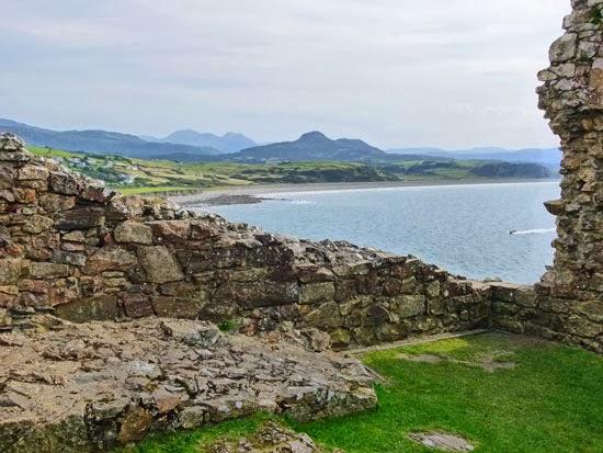 Criccieth Castle, visit Wales, English conquest