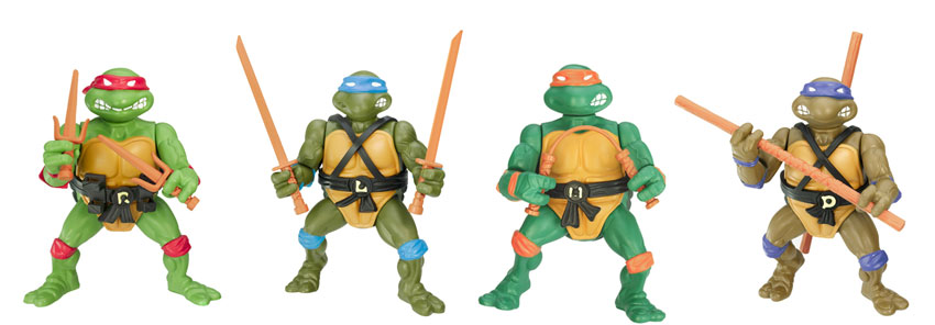 Teenage Mutant Ninja Turtles 2003 Toys : The sewer den issue top mutants
