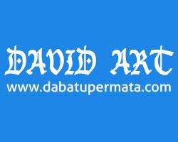 Lowongan Kerja WEB DESIGN Lampung, DAVID ART Logo