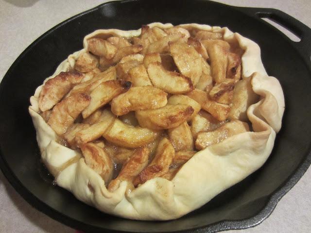 Skillet Apple Walnut Galette