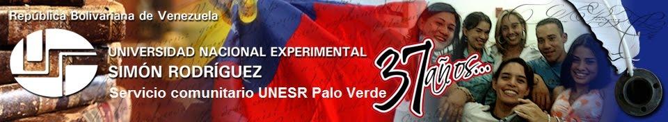 Servicio Comunitario UNESR Palo Verde