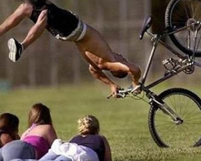 Caidas - Ciclismo amateur