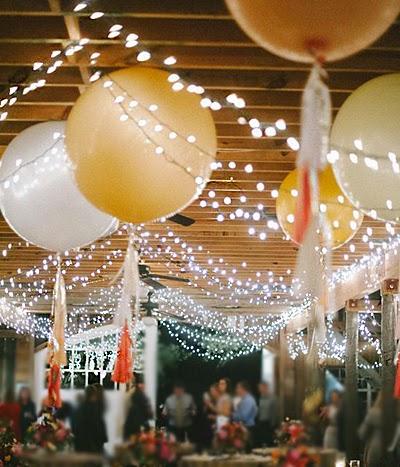 te atreves a decorar tu boda con globos gigantes? - ▷ blog de bodas