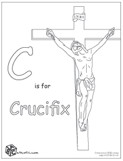 raising    teaching  little saints catholic homeschooling   traditional catholic abc catholic Catholic Alphabet Coloring Pages Printable  Catholic Abc Coloring Book