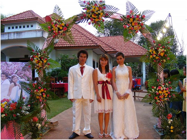Matrimonio In Thailandia : Thailandia blu cerimonia di nozze tradizionale in