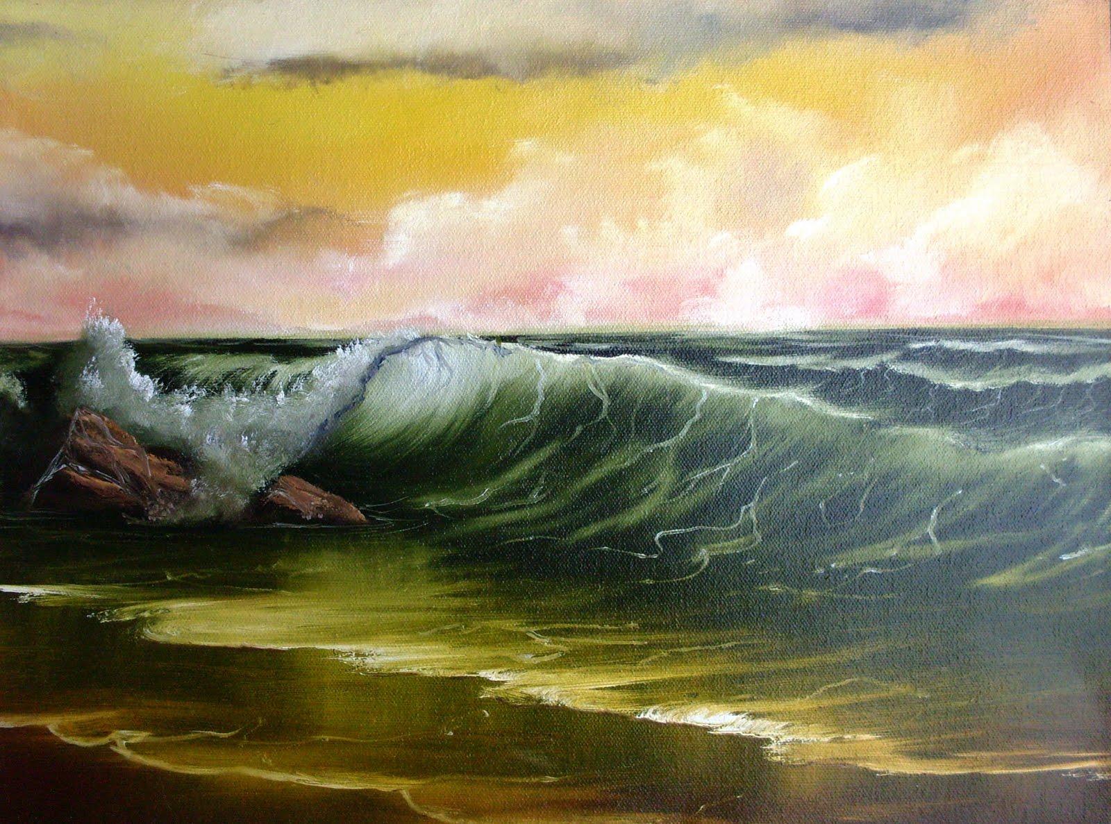 imagination painting bob ross painting