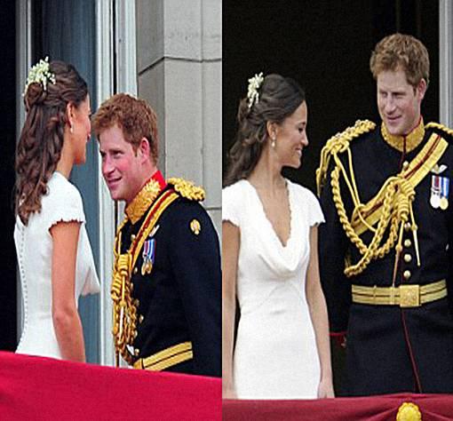 Foto Mesra Panggeran Harry dan Pippa Middleton