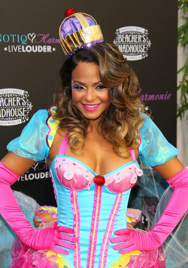 Christina Milian at the Launch of Her Halloween Cocktail Recipe Photoshoot