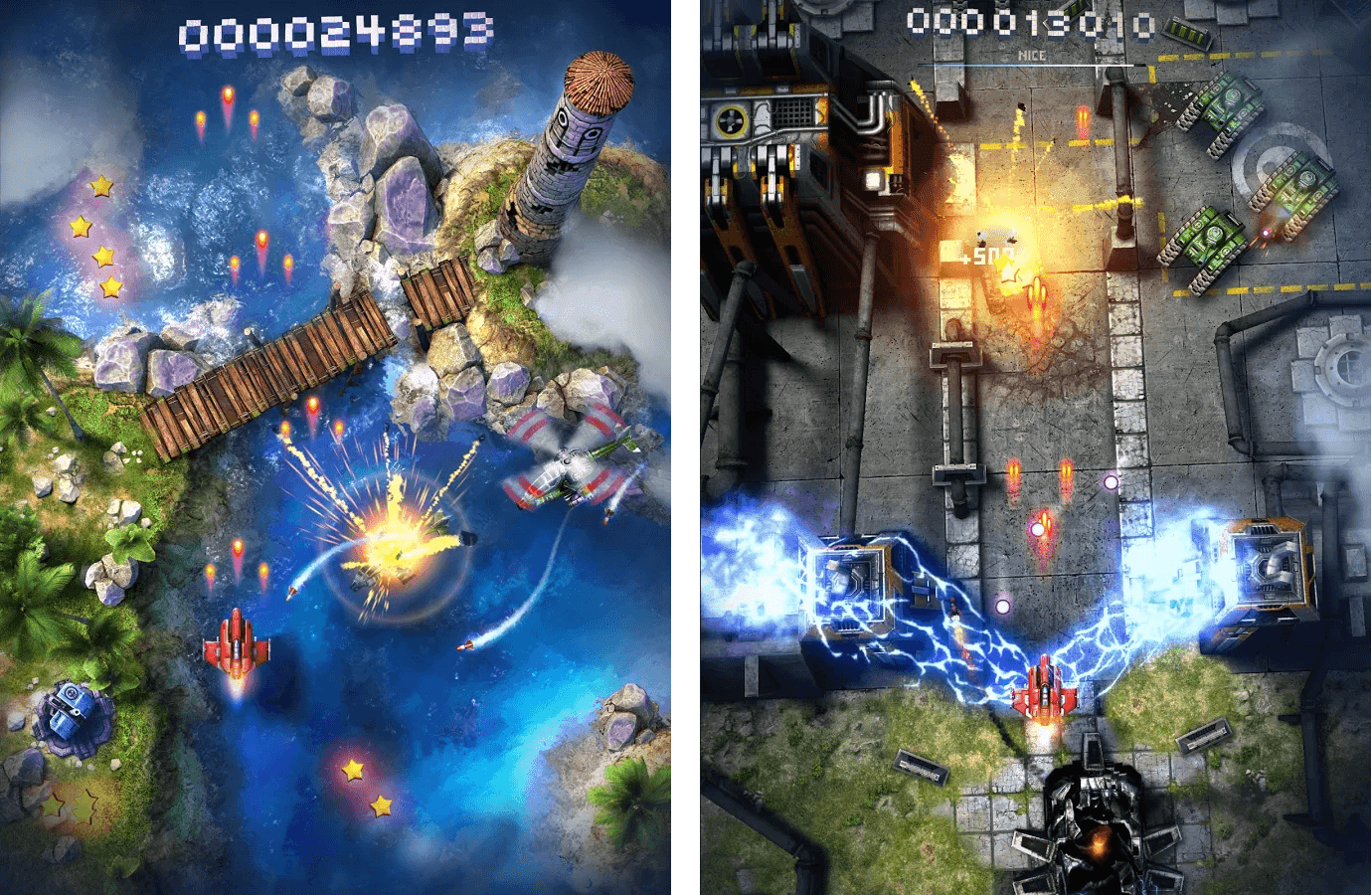 Sky Force v1.34 Apk Mod Data for Android