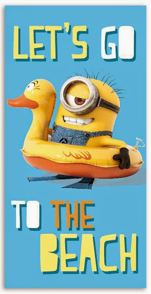 Toalla de Playa Minion MI Villano Favorito