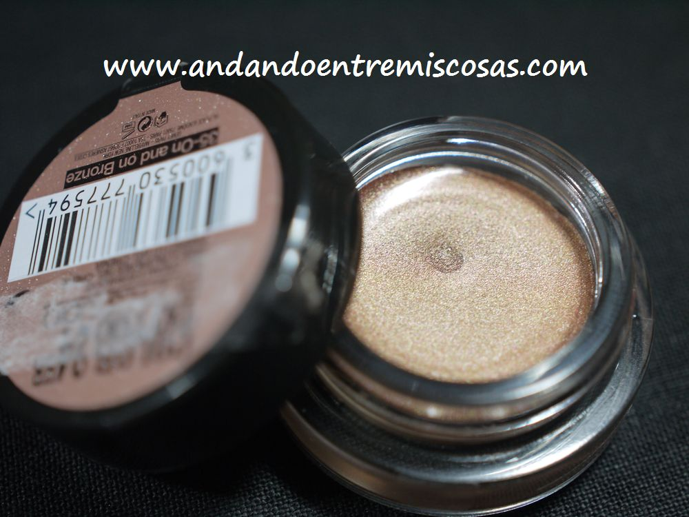 Sombra en crema 35 On and on bronze de Maybelline