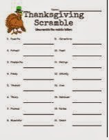 http://seasonal.theteacherscorner.net/thanksgiving/thanksgiving-word-scramble-3.pdf