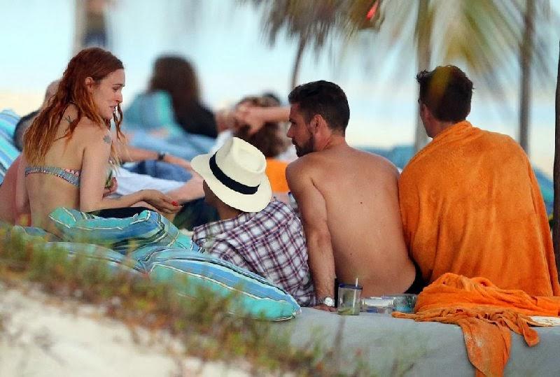 English: Demi Moore Bikini 51 Tulum Mexico