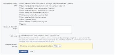 Cara Menonaktifkan Akun Facebook Sementara & Permanen2