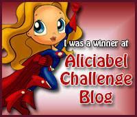 He ganado el reto de Mayo 2015 de Aliciabel Challenge Blog